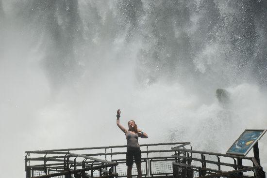 Foto scattata da un compagno di viaggio in Argentina.