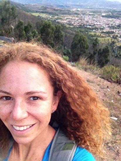 Selfie in Colombia