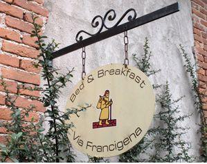 accoglienza via francigena