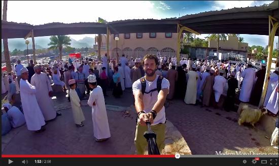 Diari di una motocicletta il video dell epic selfie più virale del web