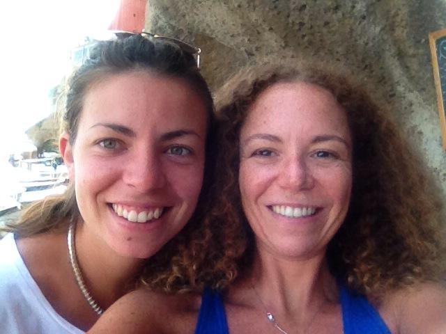 Io e Sara (la mia lettrice)