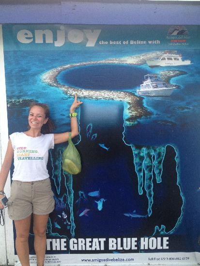 Fare immersioni nel Blue Hole in Belize