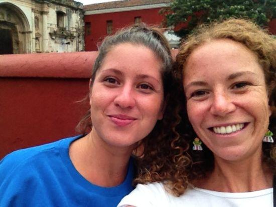 Io e Maria Vittoria ad Antigua - Guatemala