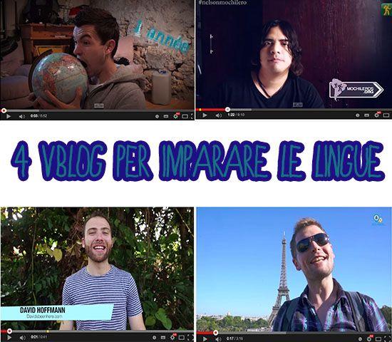 4 vblog per imparare le lingue