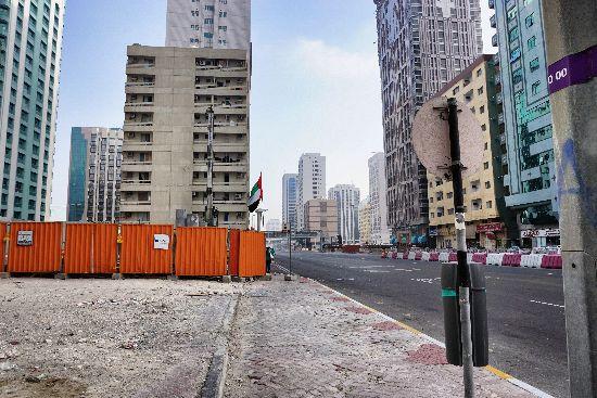 Strade di Abu Dhabi