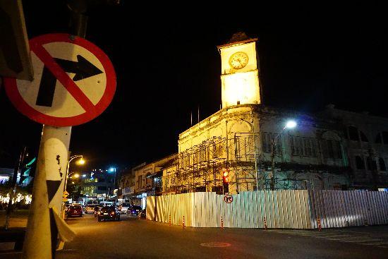 Phuket Town by night