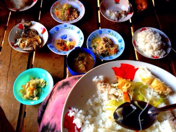 Pranzo nel villaggio