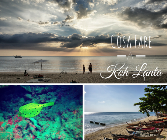 Fare immersioni a Koh Lanta – Thailandia – Brevetto Advance Open Water