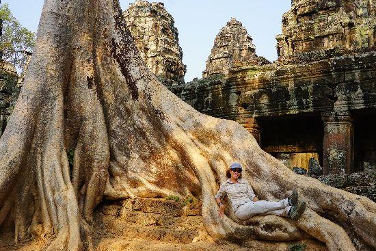 viaggiare da soli angkor