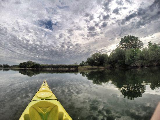 Il delta dell Ebro in kayak e bicicletta