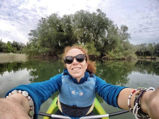 Kayak sul delta del Ebro