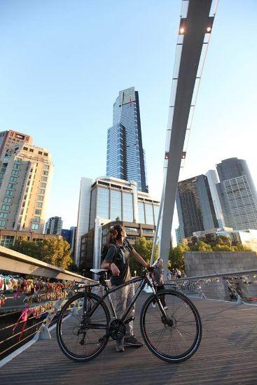 viaggiare in bicicletta in Australia