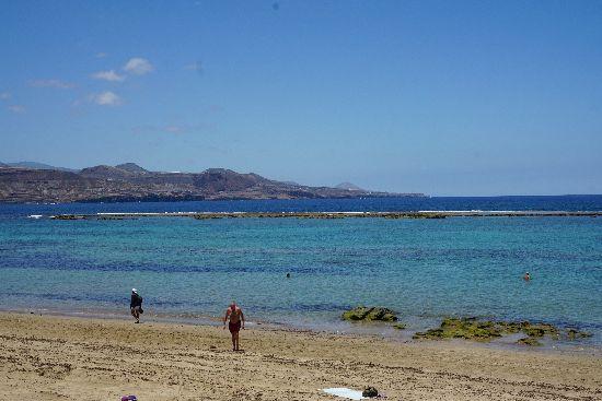 Spiaggia cittadina di Las Canteras - Las Plamas