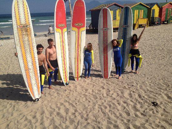 Surf a Muizenberg Beach