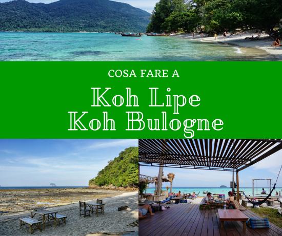 Cosa fare a Koh Lipe e Koh Boulogne Parco Nazionale di Tarutao