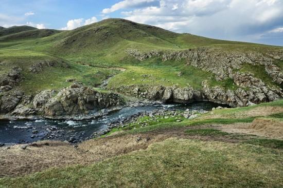 Lungo il fiume Orkhon