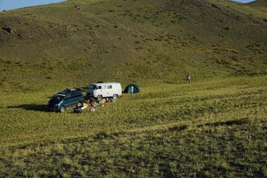 Campeggio Mongolia
