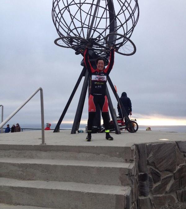 Ilaria Corli da Ferrara a Capo Nord in bicicletta in 30 giorni