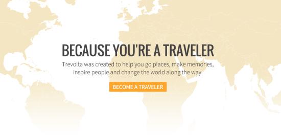 trevolta il crowdfounding di viaggio