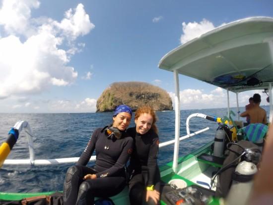 diving in Tepekong