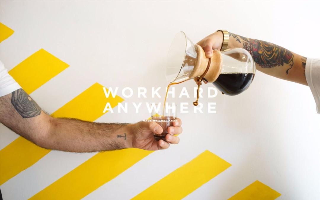 Work Hard Anywhere l'app che ti trova il caffè con wifi migliore