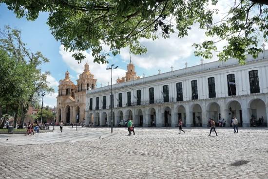 Plaza San Martin di Cordoba