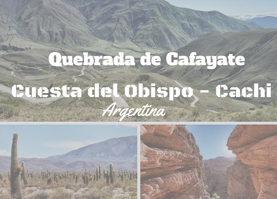 Cosa fare nella provincia di Salta: Quebrada de Cafayate e Valle de Cachi la magia dei colori