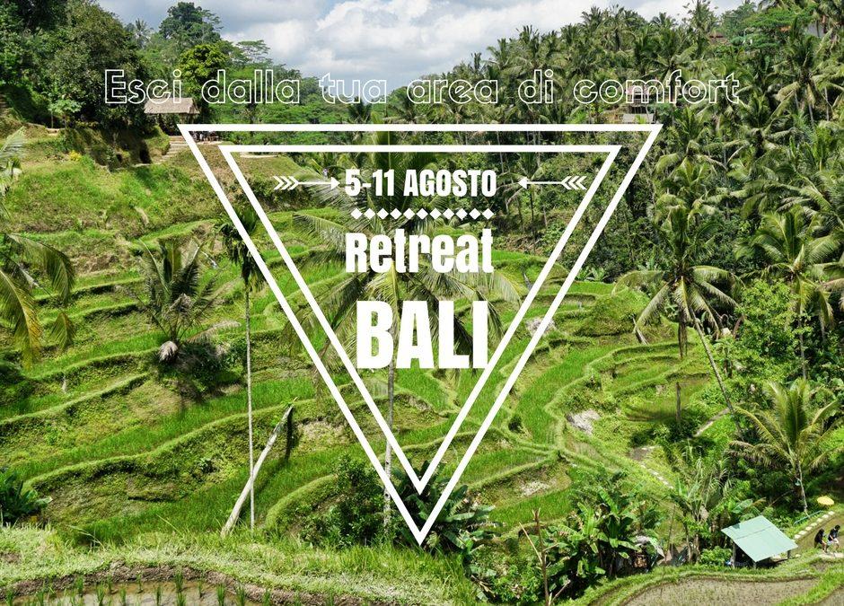Vieni a Bali con me: 5-11 Agosto – Lascia la tua aerea di Comfort