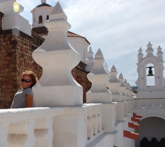 Io a Sucre Bolivia