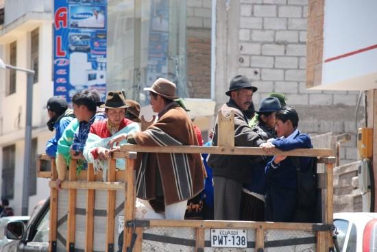 mercati dell'Ecuador