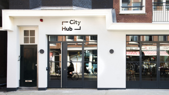 City Hub di Amsterdam