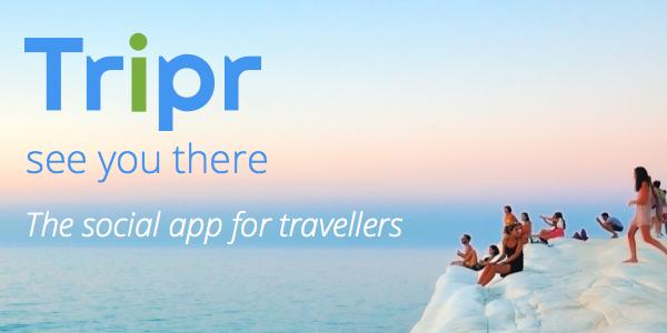 Tripr l'app per incontrare viaggiatori simili a te