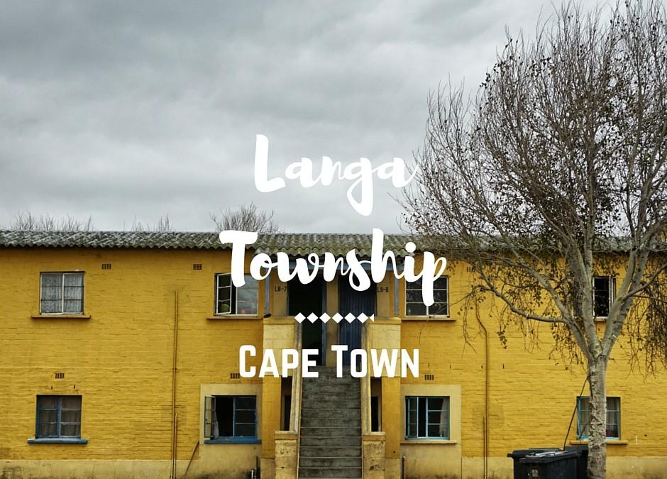 Langa la Township più antica del Sudafrica