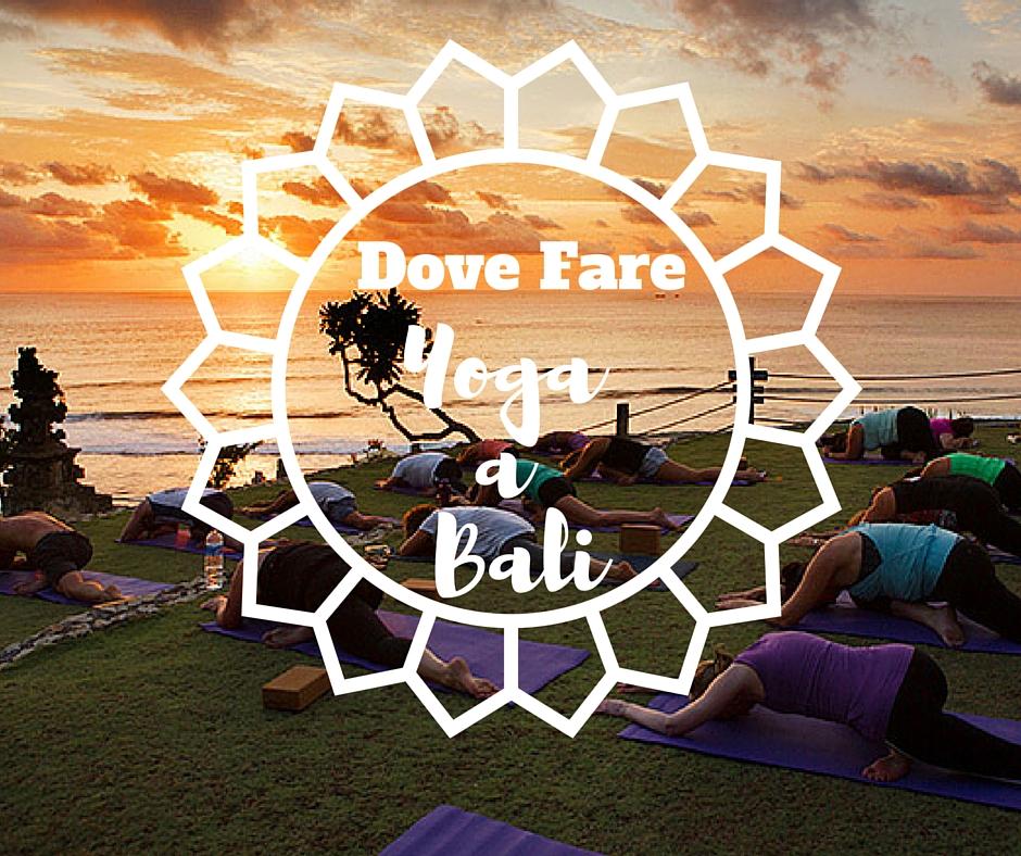 dove fare yoga a Bali