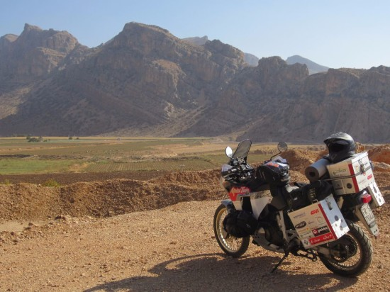 Giro del mondo in moto- Iran