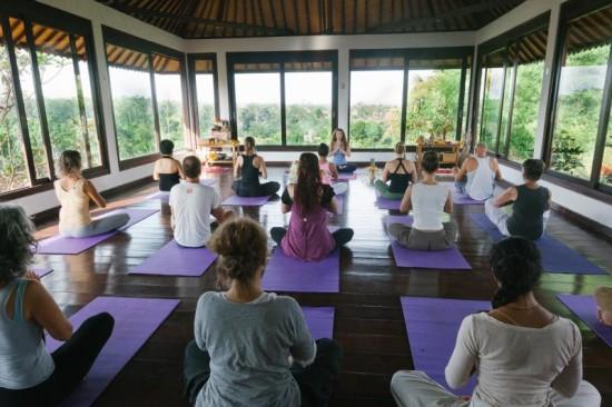 intuitive flow yoga Bali
