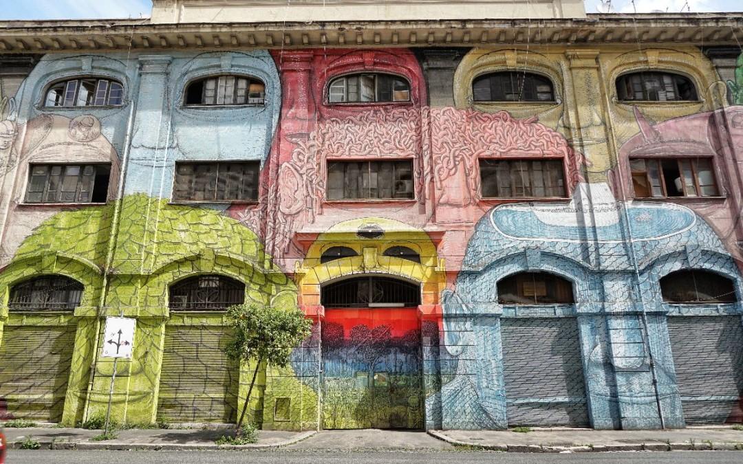 Tour della street art di Testaccio a Roma
