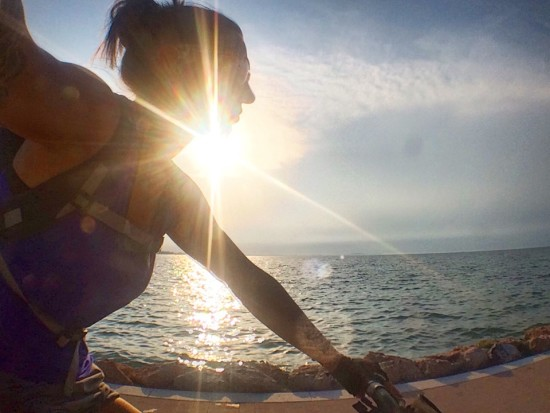 1.800km in Italia in Bicicletta da sola
