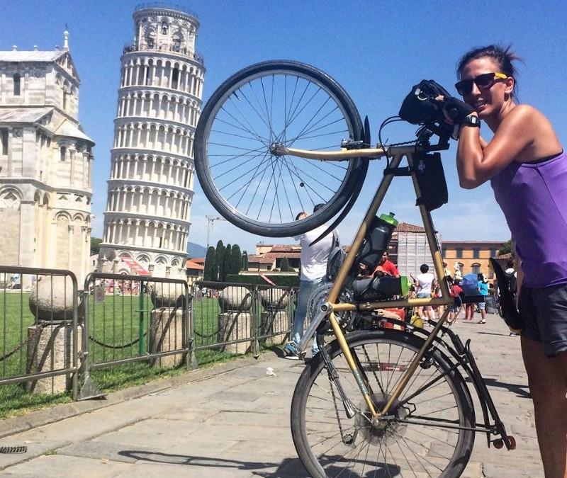 60 Giorni- 1.800km in Italia in Bicicletta da sola