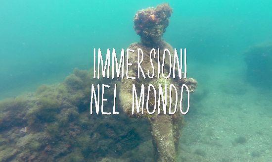 fare immersioni nel mondo