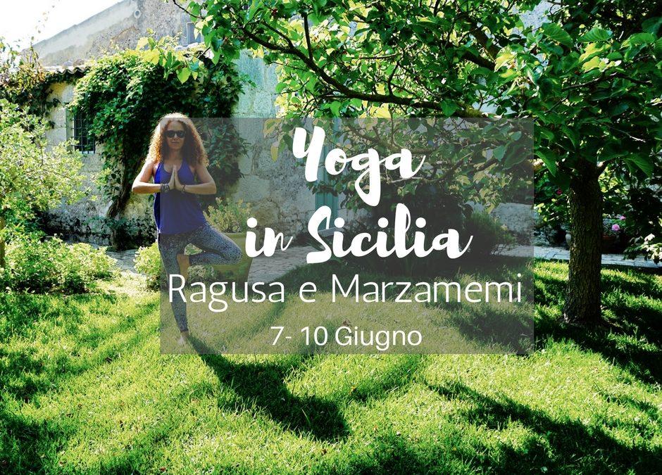 Week End Yoga in Sicilia 7-10 Giugno: Ragusa e Marzamemi