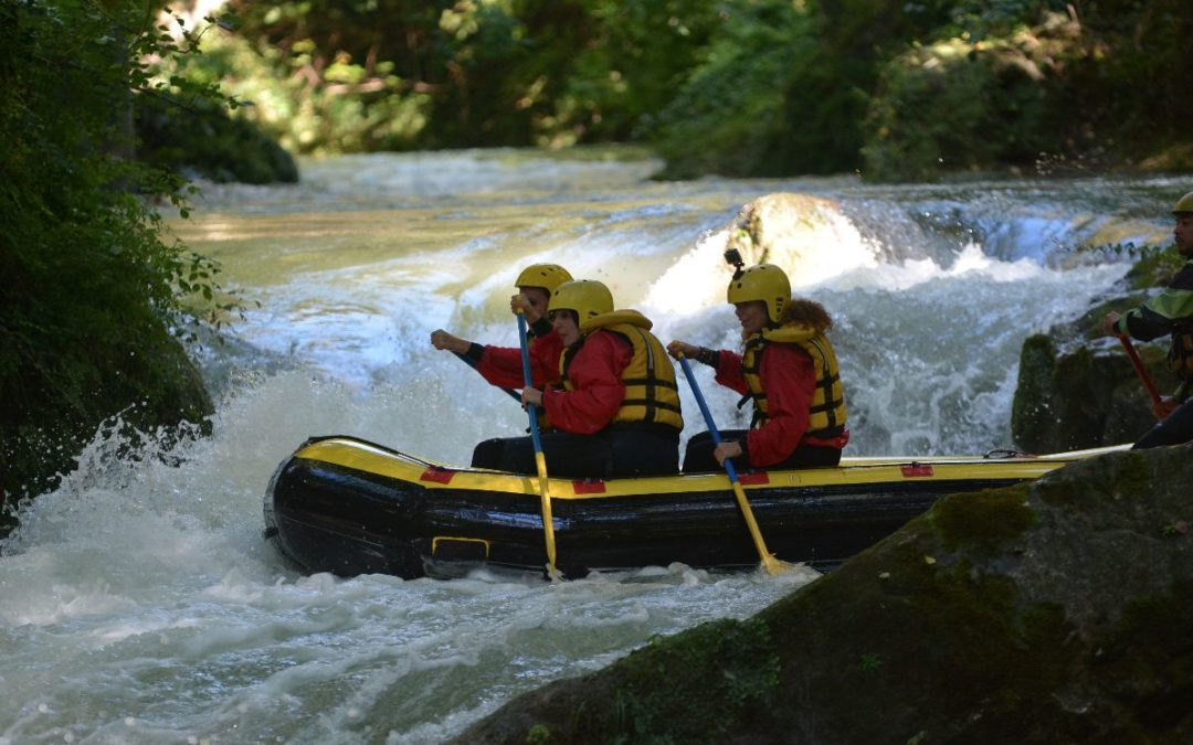 Adrenalina: River Walking e Rafting alle Marmore
