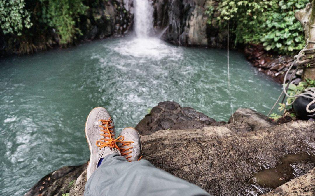 Viaggiare con le scarpe Outdoor Dolomite