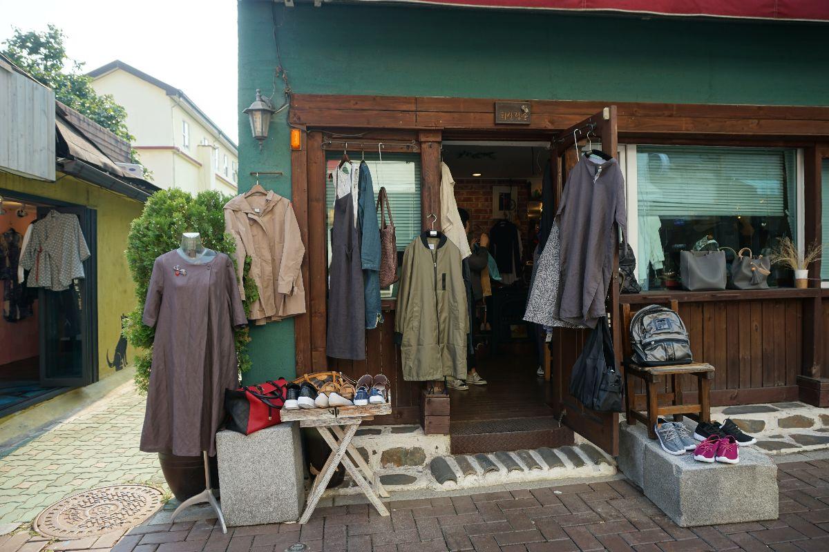 negozi vintage a Seoul