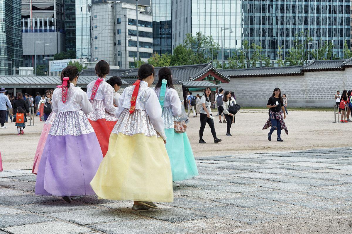 affittare un vestito tradizionale a Seoul