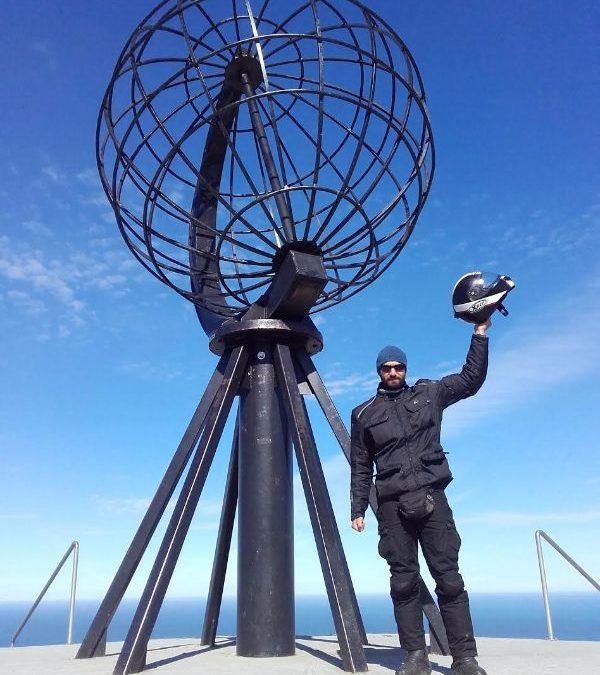 Giuseppe: In moto da solo a Capo Nord
