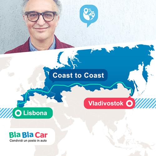 Carlo Alberto Cavallo: da Lisbona a Vladivostock con Bla Bla Car