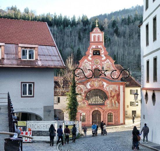 Centro di Fussen - Baviera