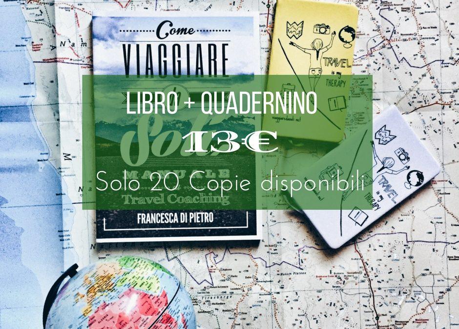 Solo 20 Pezzi: Libro + Quadernino 13€