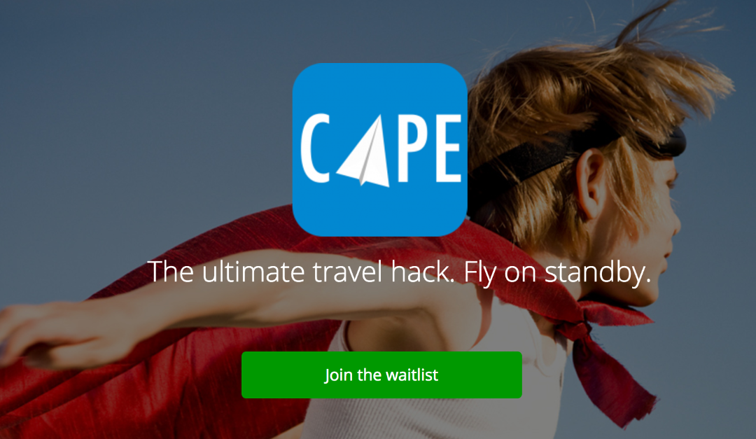 Cape: la piattaforma per comprare i voli in stand by